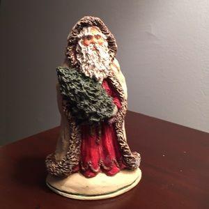 June McKenna carved Santa